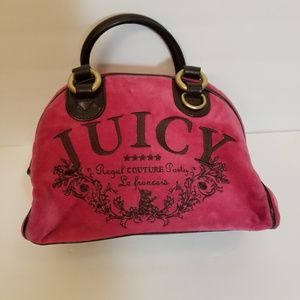 Juicy Couture small pink hand bag 10 X 7X 5